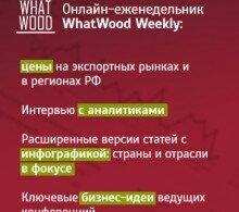 Агентство лесопромышленной аналитики и новостей WhatWood